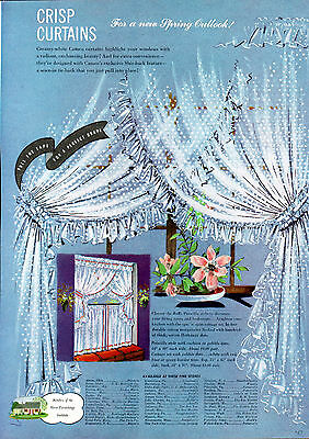 1947Cameo Curtains ad Spring Priscilla Style ---k282