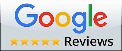 100 Google Reviews 5 STAR For Google Map Local Business LIFETIME GUARANTEE