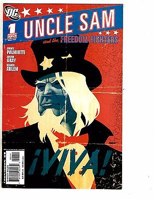Uncle Sam & The Freedom Fighters Complete DC Comics Series #1 2 3 4 5 6 7 8 J211