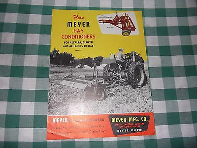 Meyer Hay Conditioners Leaflet