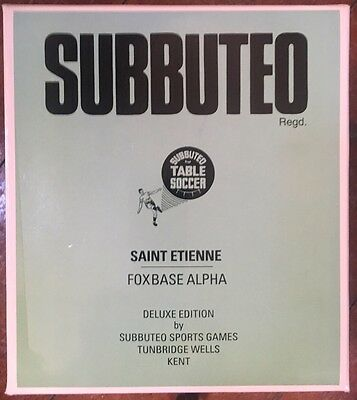 Saint Etienne Foxbase Alpha Subbuteo Edition RARE Box Set