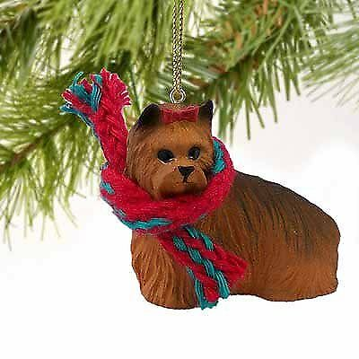 Yorkshire Terrier Miniature Dog Ornament