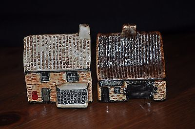 2 Countryside Collection Britain in Miniature Tey Terra Houses