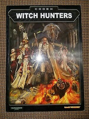 USED Warhammer 40k Witch Hunters Codex OOP FREE SHIPPING