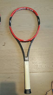 Wilson Pro Staff RF97 Tennis Racket grip size L2 4 1/4
