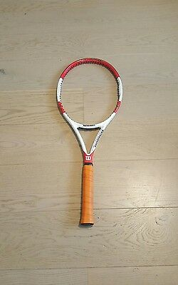 Wilson Pro Staff Six One 95 Classic 18x20 Tennis Racket grip size L2 4 1/4