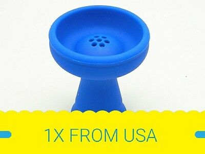 1 X Phunnel Bowl 7 Holes Silicone Hookah Bowl Head for hookah Charcoal