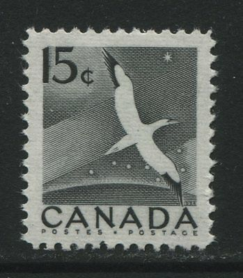 Canada: 1954 15 cents stamp - Northern Gannet SG474 MNH - AC266