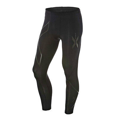 2XU NERO MEN'S COMPRESSION LONG TIGHTS, BLACK*AUS Brand-Small,Medium,Large Or XL