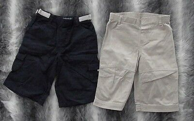 x2 pairs of boys 3/4 trousers age 18-24 months