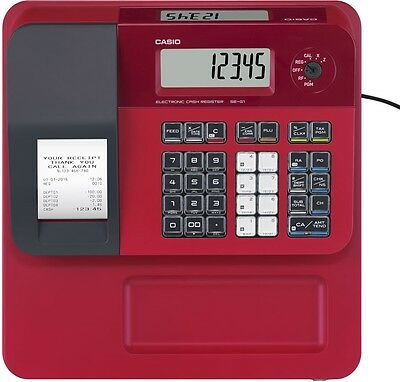 Casio Cash Register Red SE-G1SD-RD