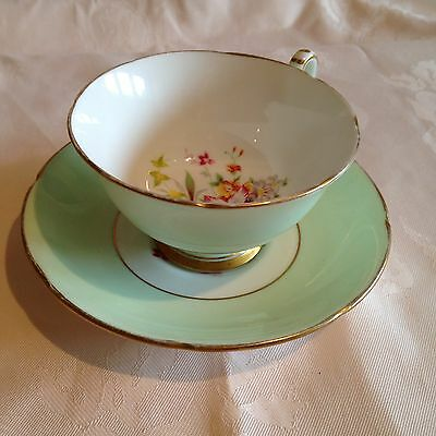Beautiful Delicate Royal Grafton China Cup And Saucer