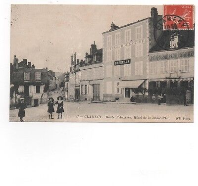 58 - CLAMECY - Route d'Auxerre