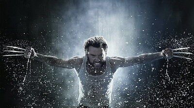 "005 The Wolverine 3 - Hugh Jackman Action 2017 Movie 24""x14"" Poster"