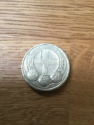 2010 Capital Cities £1.00 Coin London. Circulated