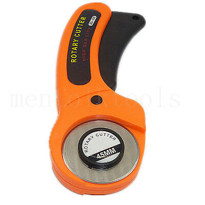 45mm Rotary Cutter Premium Quilters Sewing Fabric Crafts Quilting Cutting Tool