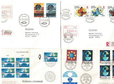Finland12 FDC, nice collection