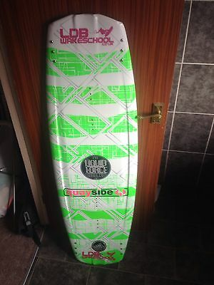 Cheap Liquid Force 139 Harley Grind Wakeboard. Great First Board For Boat/Cable.