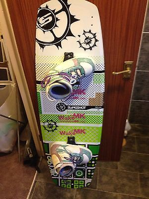 Cheap Wakeboard Combo To Learn On Before Buying Expensive Kit. Slingshot 137, LF