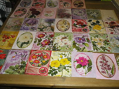 33 flower sample toppers hunkydory
