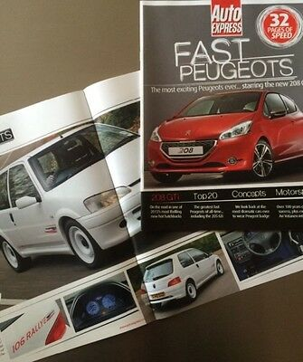 Fast Peugeots Special Edition Magazine - Inc 106 205 206 306 309 GTi, Rallye etc