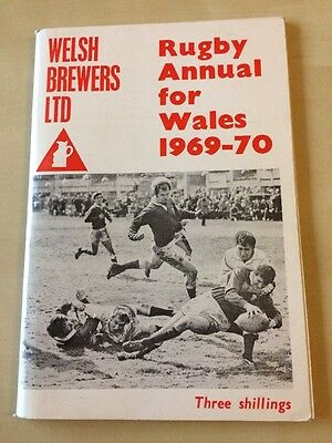 Rugby Annual For Wales 1969-70