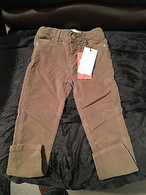 Angel & Rocket Brushed Cotton Stretch Trousers , Age 4 .