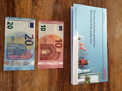 30 Euros Left over holiday money