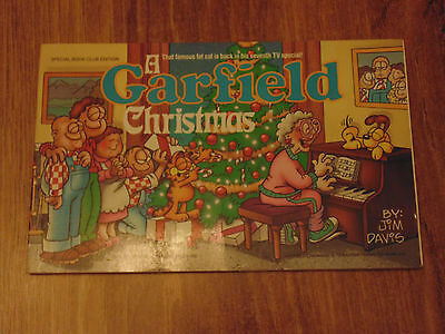 Garfield Christmas Comic Book