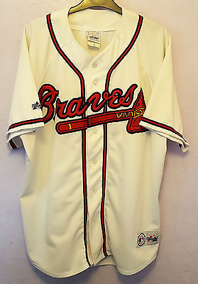 Atlanta Braves Baseball Shirt, 2000, Size XL.