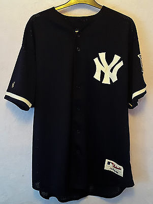 New York Yankees Baseball Shirt, 2000/2001, Size XL.