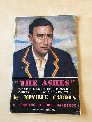 The Ashes (A Sporting Record Handbook) by Neville Cardus