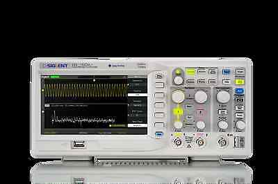 Siglent SDS1102CML+ DSO Oscilloscope 100MHz 1GSPS 2CH