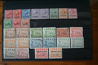 Small Selection Of Stamps Mm & Used
