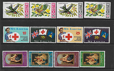 St Lucia Mint Stamps