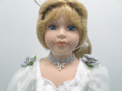 Porcelain Bisque Angel Doll Heritage Signature Collection New in Box