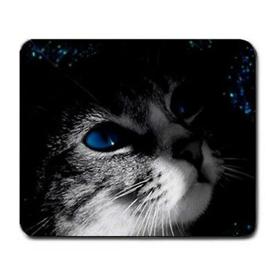 Blue eyed kitten Large Mousepad Mouse Pad Great Gift Idea