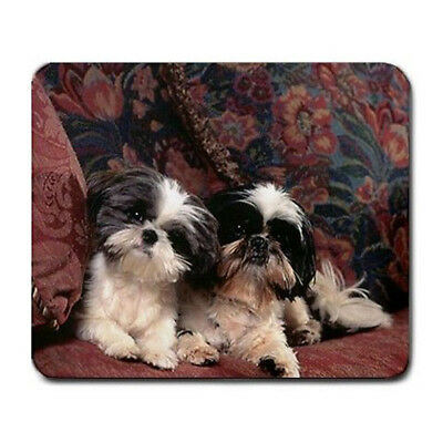 Puppies shih tzu Large Mousepad Mouse Pad Great Gift Idea