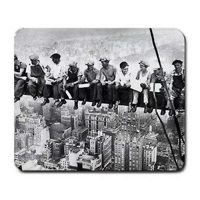 Lunch atop Skyscraper Large Mousepad Mouse Pad Great Gift Idea