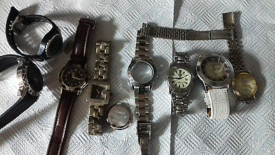 mixed lot of watches faulty untested
