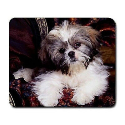 Shih tzu puppy Large Mousepad Mouse Pad Great Gift Idea
