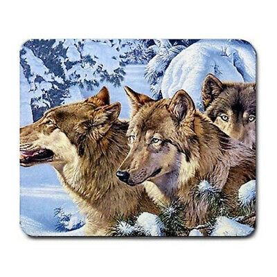 Wolf pack Large Mousepad Mouse Pad Great Gift Idea