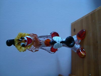 Solid Glass Clown