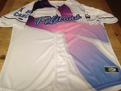 Chicago Cubs Prospect Myrtle Beach Pelicans Duanne Underwood Game Used Jersey