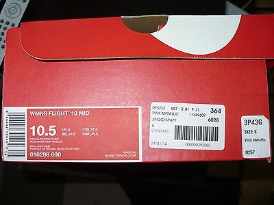Nike Women'S Shoes Woman Flight 13 Mid Shoe Footwear casual 616298-600 HO