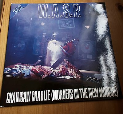 "Wasp 12"" Vinyl Chainsaw Charlie (Murders In The New Morgue)Uk 12Rg 6308"