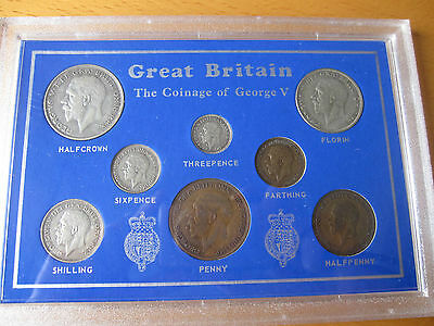 The coinage of George V - coins