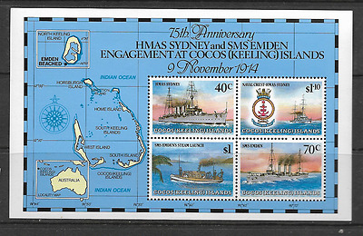 Cocos and Keeling Islands 1989 Mint Miniature Sheet