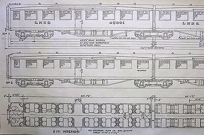 Isinglass 7Mm Drawing Gresley Articulated Steel Tourist Stock