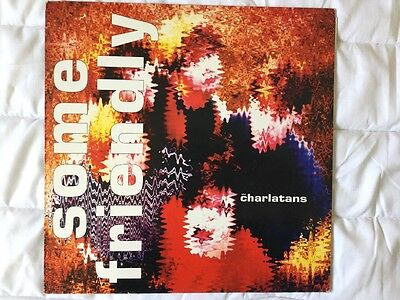 The Charlatans Some Friendly 12' LP Original UK Issue